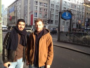 Hamza and Til Biermann